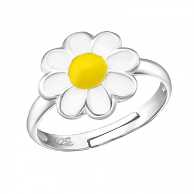 Flower - 925 Sterling Silver Rings for kids A4S11894