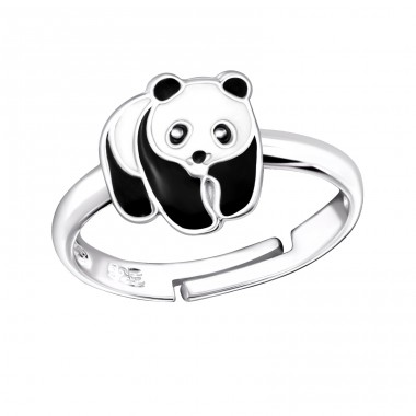 Panda - 925 Sterling Silver Rings for kids A4S11896