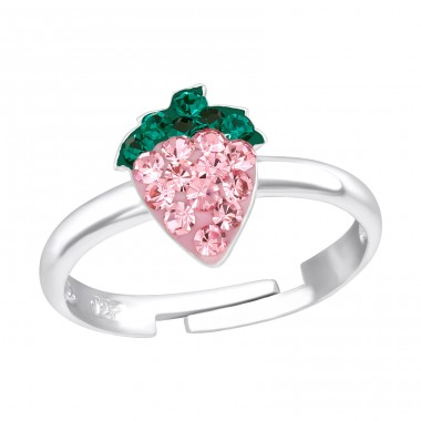 Strawberry - 925 Sterling Silver Rings for kids A4S11973