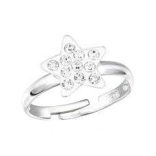Star - 925 Sterling Silver Rings for kids A4S12237