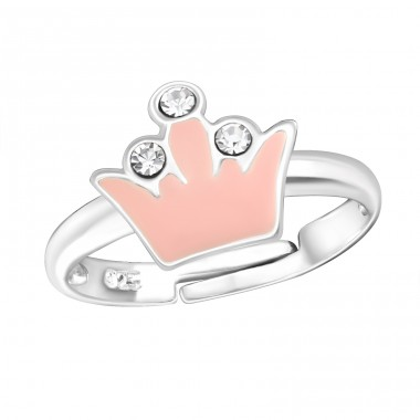 Crown - 925 Sterling Silver Rings for kids A4S13527