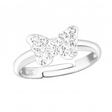 Butterfly - 925 Sterling Silver Rings for kids A4S15409
