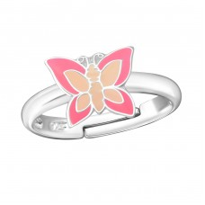 Butterfly - 925 Sterling Silver Rings for kids A4S16108