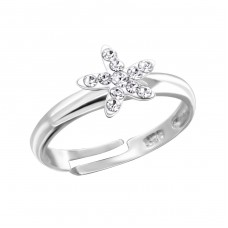 Star - 925 Sterling Silver Rings for kids A4S16566