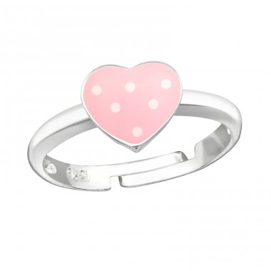 Heart - 925 Sterling Silver Rings for kids A4S18276