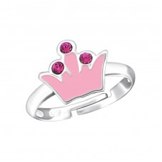 Crown - 925 Sterling Silver Rings for kids A4S18839