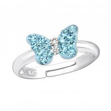 Butterfly - 925 Sterling Silver Rings for kids A4S18908