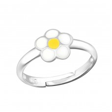 Flower - 925 Sterling Silver Rings for kids A4S19385