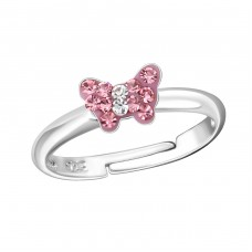 Butterfly - 925 Sterling Silver Rings for kids A4S19434