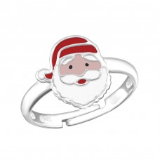 Santa Claus - 925 Sterling Silver Rings for kids A4S20179