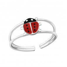 Ladybird - 925 Sterling Silver Rings For Kids A4S20185