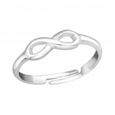 Infinity - 925 Sterling Silver Rings for kids A4S20514
