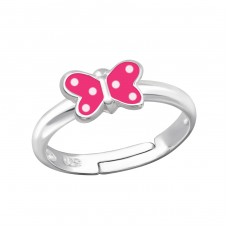 Butterfly - 925 Sterling Silver Rings For Kids A4S20784