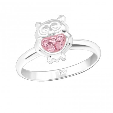 Owl - 925 Sterling Silver Rings for kids A4S21843