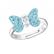 Butterfly - 925 Sterling Silver Rings for kids A4S22262