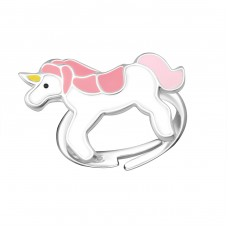 Unicorn - 925 Sterling Silver Rings for kids A4S22264