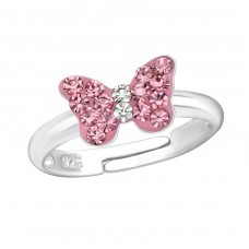 Butterfly - 925 Sterling Silver Rings for kids A4S23477