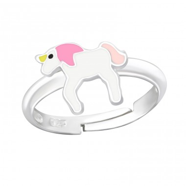 Unicorn - 925 Sterling Silver Rings for kids A4S24010