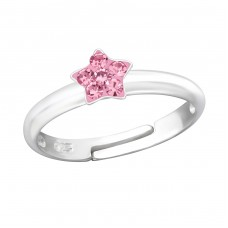Star - 925 Sterling Silver Rings for kids A4S24013