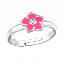 Flower - 925 Sterling Silver Rings for kids A4S25145