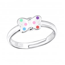 Butterfly - 925 Sterling Silver Rings for kids A4S25161