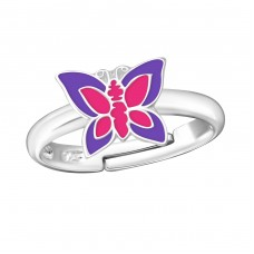 Butterfly - 925 Sterling Silver Rings for kids A4S26823