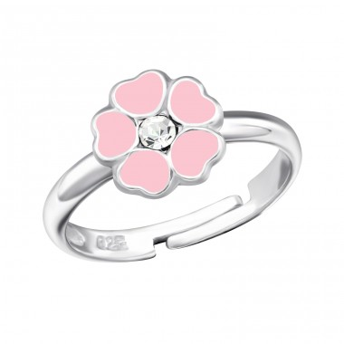 Flower - 925 Sterling Silver Rings for kids A4S27722