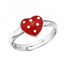 Heart - 925 Sterling Silver Rings for kids A4S27724