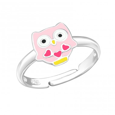 Owl - 925 Sterling Silver Rings for kids A4S27727