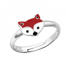 Fox - 925 Sterling Silver Rings for kids A4S27729