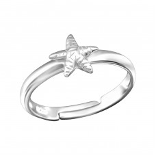 Starfish - 925 Sterling Silver Rings for kids A4S28085