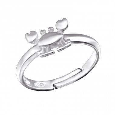 Crab - 925 Sterling Silver Rings for kids A4S28090