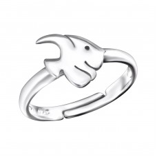 Fish - 925 Sterling Silver Rings for kids A4S28101
