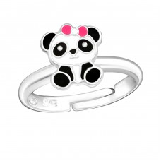Panda - 925 Sterling Silver Rings for kids A4S28183
