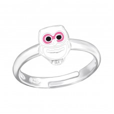 Owl - 925 Sterling Silver Rings for kids A4S28185