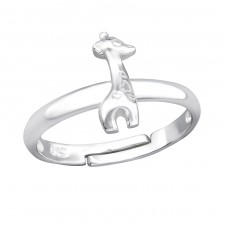 Giraffe - 925 Sterling Silver Rings for kids A4S28229