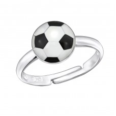 Football - 925 Sterling Silver Rings for kids A4S28323