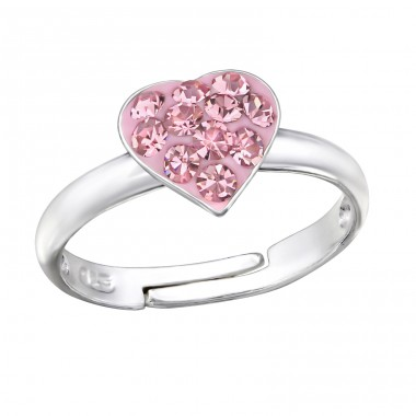 Heart - 925 Sterling Silver Rings for kids A4S30624