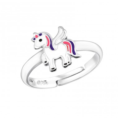 Unicorn - 925 Sterling Silver Rings for kids A4S30981