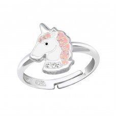 Unicorn - 925 Sterling Silver Rings for kids A4S34044