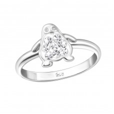 Penguin - 925 Sterling Silver Rings for kids A4S35002