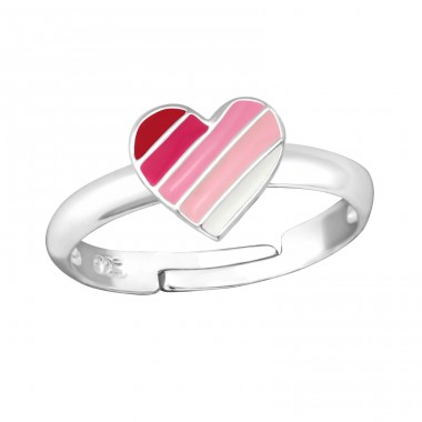Heart - 925 Sterling Silver Rings for kids A4S35320