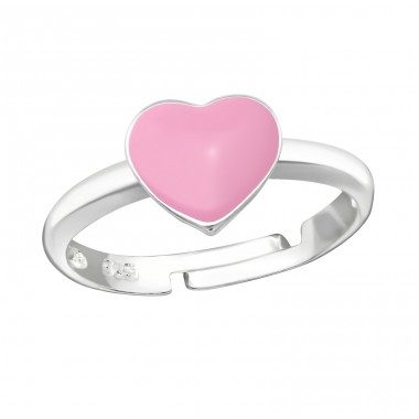 Heart - 925 Sterling Silver Rings for kids A4S35321
