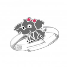 Elephant - 925 Sterling Silver Rings for kids A4S35626