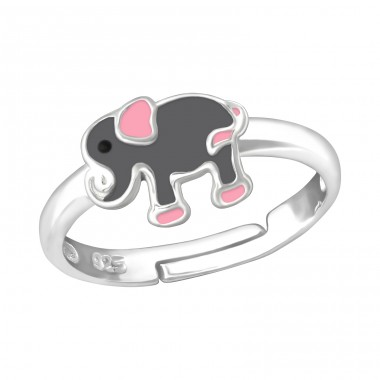 Elephant - 925 Sterling Silver Rings for kids A4S35806