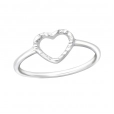 Heart - 925 Sterling Silver Rings for kids A4S36553