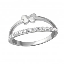 Butterfly - 925 Sterling Silver Rings for kids A4S36557