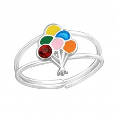 Balloon - 925 Sterling Silver Rings for kids A4S37105