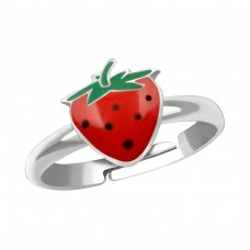 Strawberry - 925 Sterling Silver Rings for kids A4S38609