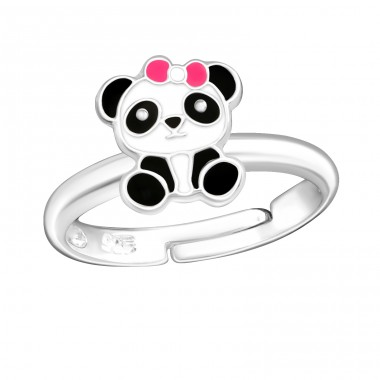 Panda - 925 Sterling Silver Rings for kids A4S38663